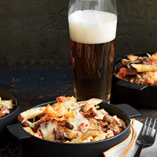 Louisiana Cheese Fries with Crayfish and Gravy