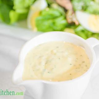 Low Carb Caesar Salad Dressing - Healthy & Delicous