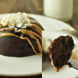 Low-carb Individual Moist Chocolate Cake