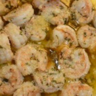 Low-carb Shrimp Scampi