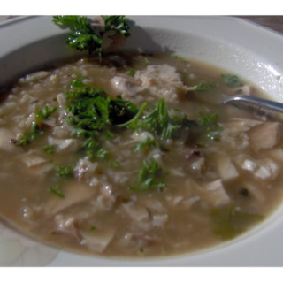 Low-sodium Chicken Rice Soup