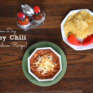 Made From Scratch Low Sodium Turkey Chili