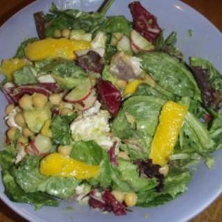 Mahi-Mahi Salad with Mango and Avocado