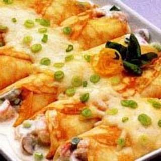Main - Seafood Crepes