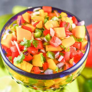 Mango Habanero Salsa