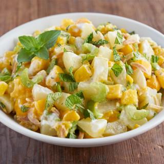 Mango Honey Fruit Salad