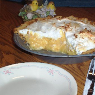 Ma's Coconut Cream Pie