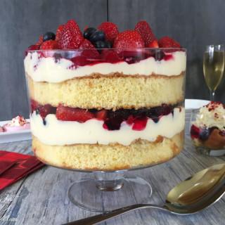 Mascarpone Custard Trifle