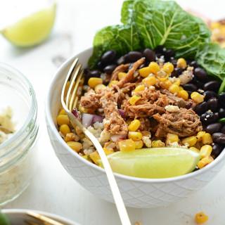 Meal Prep Carnitas Burrito Bowls
