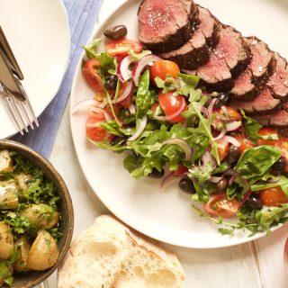 Mediterranean Beef Filet