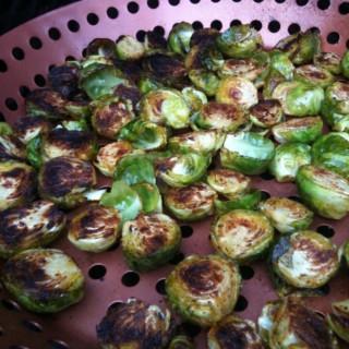 Mediterranean Braised Brussel Sprouts