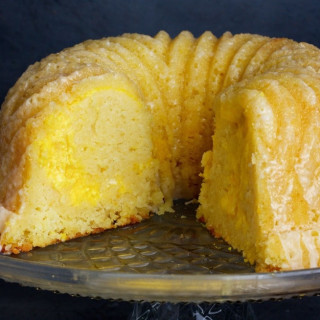 Meyer Lemon Buttermilk Bundt Cake