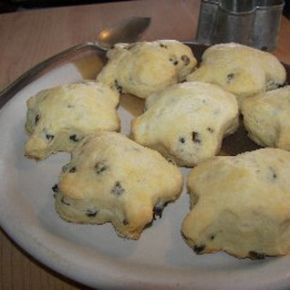Mile High buttermilk scones