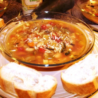 Minestrone with Fennel