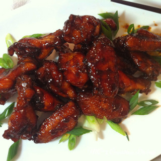 Molasses Chicken Wings