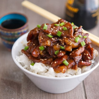MONGOLIAN BEEF (LOW CARB & GLUTEN-FREE)