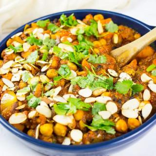 Moroccan Chickpea Stew (Gluten Free and Vegan)