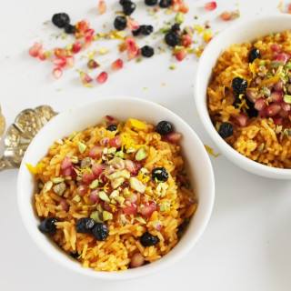 Moroccan Inspired Rice