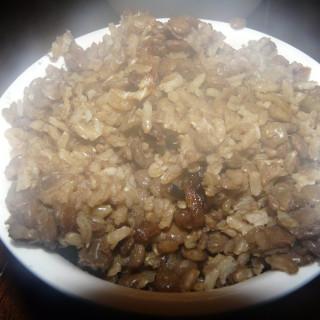 Mujadarah (Rice and Lentils)