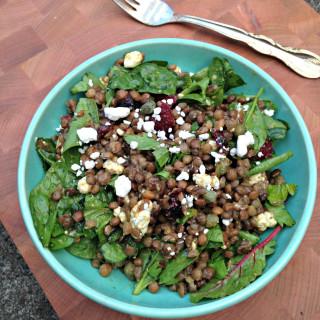 My Favorite Lentil Salad