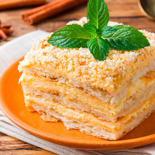 Napoleon Cake 🍰