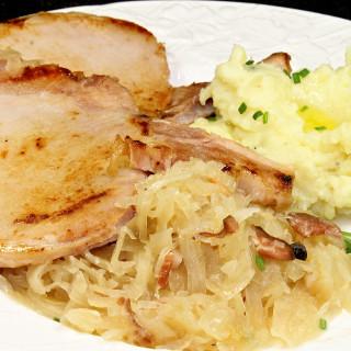 New Years Day Pork and Sauerkraut