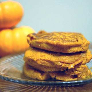 No Sugar Added Pumpkin Pancakes