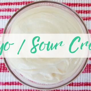 Nutritarian Sour Cream/Mayo