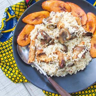 One Pot Efik Style Coconut Rice (Edesi Isip)