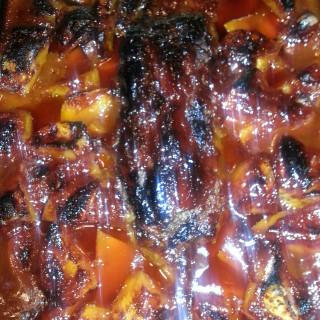 Oven Baked BBQ Meat Loaf