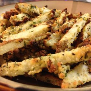 Oven Baked Parmesan Seasoned Fries