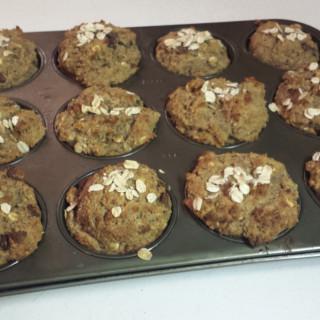 Owen's Oatmeal Banana chocolate Chip Muffins