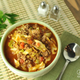 Paleo Deconstructed Cabbage Roll Soup – Low Carb, Gluten Free | Peace Love
