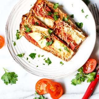 Paleo Eggplant Parmesan