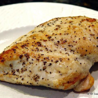 Pan Seared Oven Roasted Skinless Boneless Chicken Breast