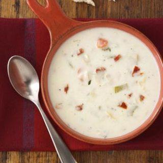 Parmesan Artichoke Soup Recipe