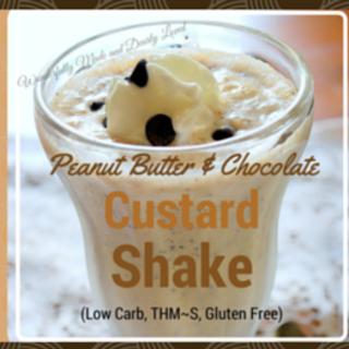 Peanut Butter Custard Shake