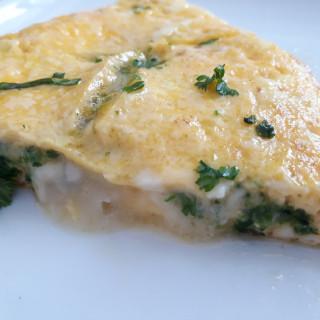 Špinačna omleta