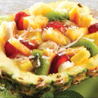 Pineapple Mango Fruit Salad