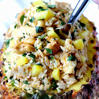 Pineapple Coconut Cashew Rice