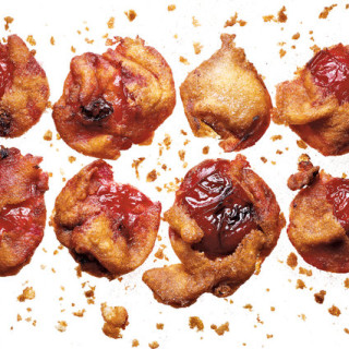 Plum Fritters