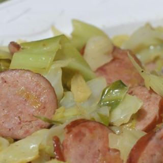 Polish Link Sausage and Cabbage