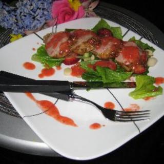 Pork Tenderloin with Strawberry Vinaigrette