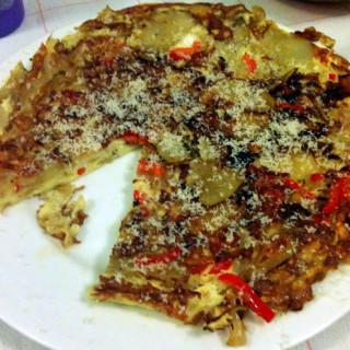 Potato, Red Pepper, and Onion Frittata (Frittata di Patate, Peperone e Cipo