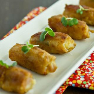 Potato Salad Pork Roll