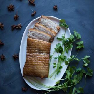 Pressure Cooker Asian Braised Pork Belly