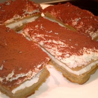 Protein Vanilla Coffee Slices