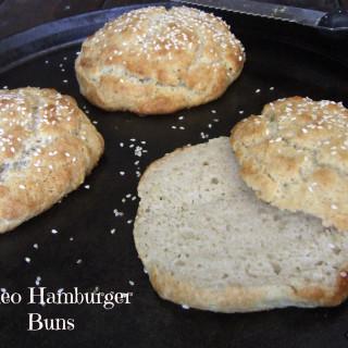 Quick and Easy Paleo Hamburger Buns