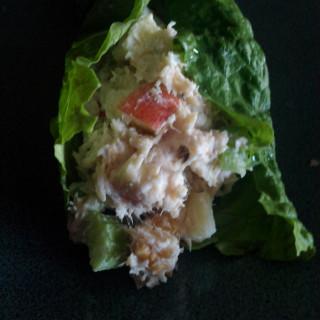 Ranch-y Chicken Salad Wraps