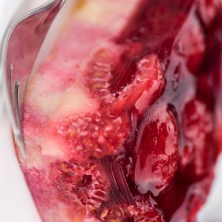 Kimberly's Raspberry Angel Cake